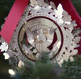 白宫圣诞装饰