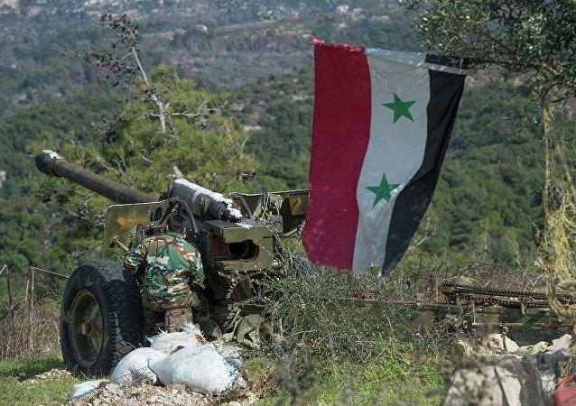消息人士:敘軍將武裝分子從幼法拉底河岸阿沙拉鎮趕出