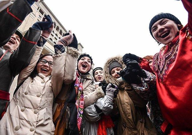中國赴俄遊客人數約為130萬人