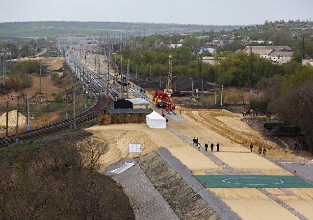 繞烏克蘭鐵路年底前將全面啓用