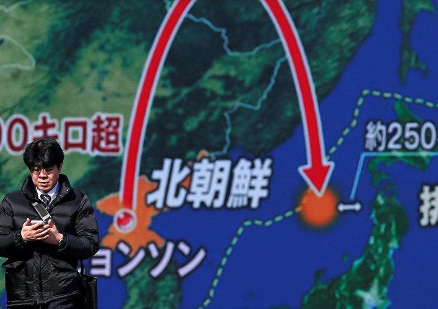 德國和意大利譴責朝鮮試射導彈的行為