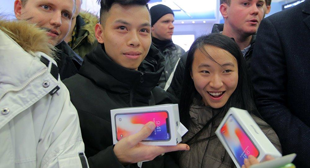 俄羅斯蘋果手機比中國便宜