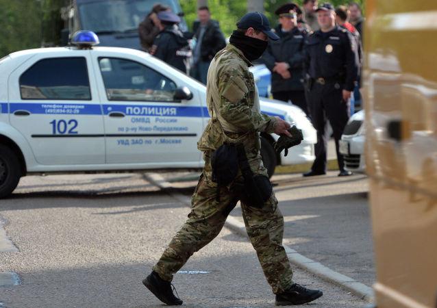 俄聯邦安全局與上合組織2017年聯手破獲50多個恐怖組織小組