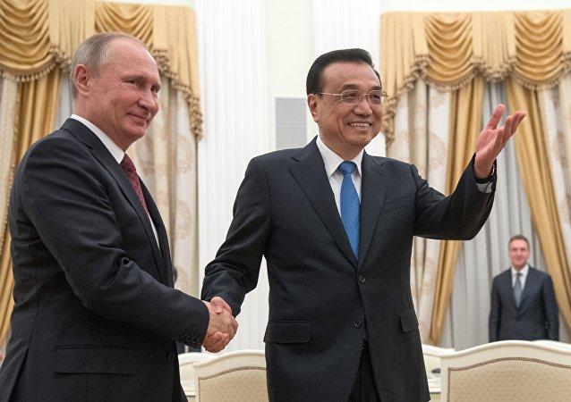 中國國務院總理:中俄兩國經濟合作正邁出堅實步伐