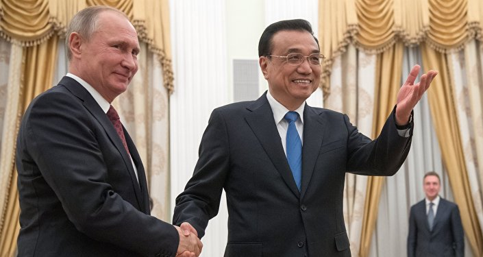 中国国务院总理:中俄两国经济合作正迈出坚实步伐