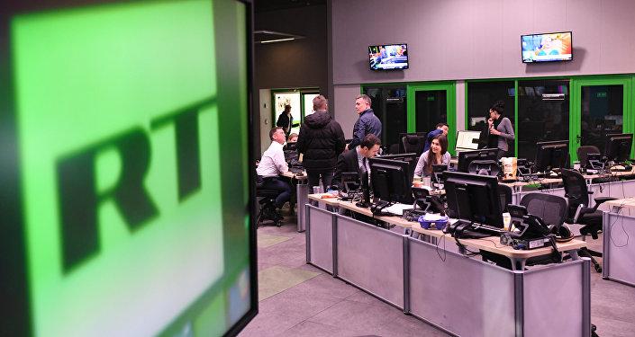 RT电视台莫斯科办公室