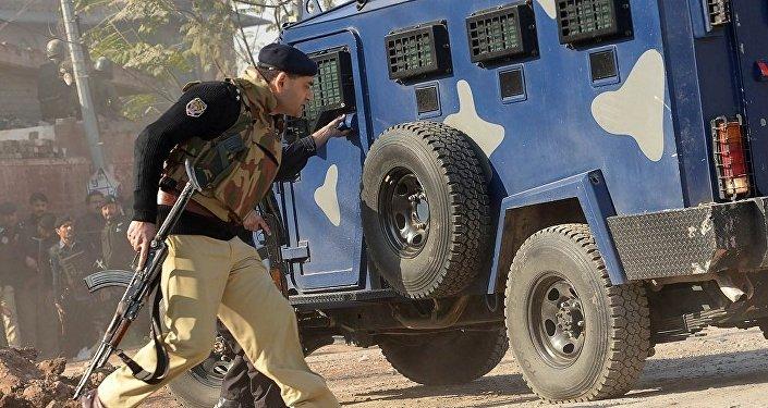 巴基斯坦爆炸造成五人受伤