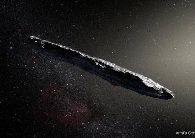 俄罗斯学者模拟来自其它星系的小行星的运动轨迹