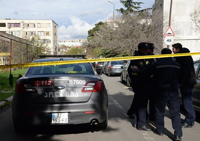 格鲁吉亚警察(图片资料)