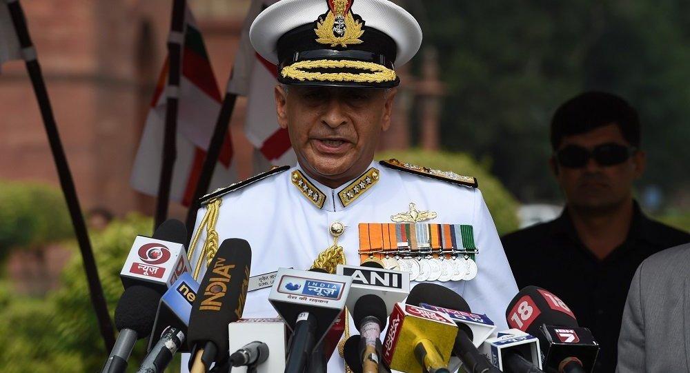 印度海军司令苏尼尔·兰巴