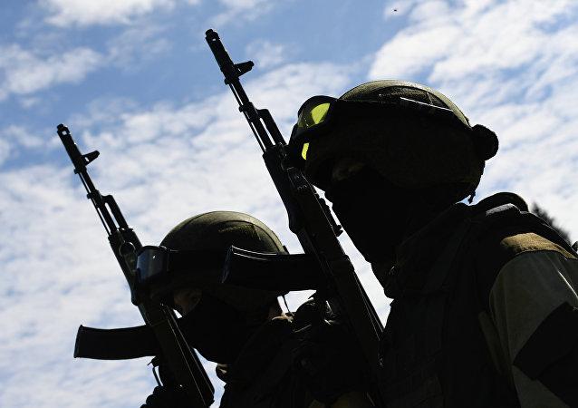 """俄联邦近卫军特种部队已抵达中国 将参加""""合作-2017""""军演"""