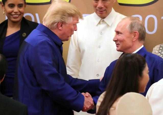 俄駐美大使:特朗普沒有放棄改善與莫斯科關係的目標