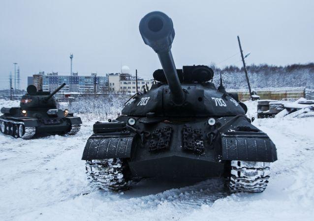 俄罗斯T-34坦克