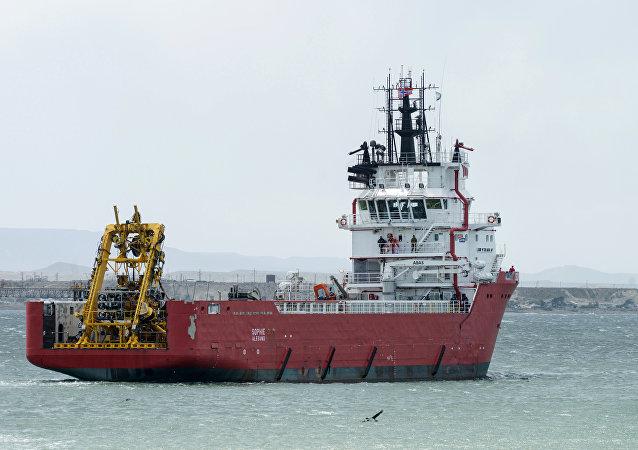 阿根廷海軍:載有俄搜索設備的軍艦已經抵達「聖胡安」號潛艇失蹤地區