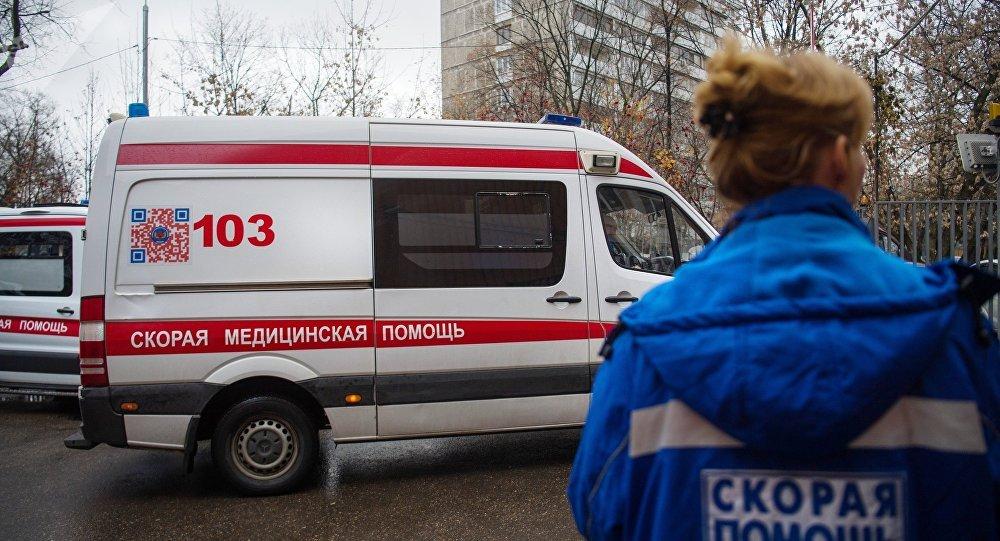 莫斯科市中心一栋建筑物倒塌 造成人员伤亡