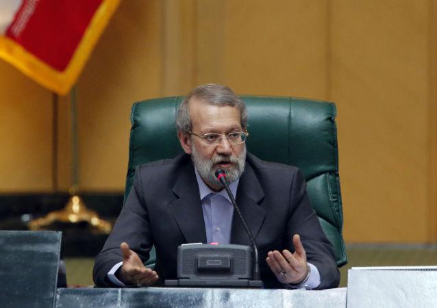 伊朗伊斯兰议会议长阿里•拉里贾尼