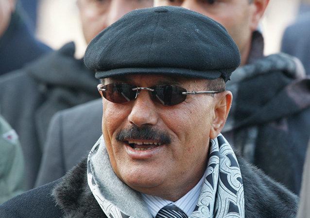 也门前总统萨利赫的长子誓报父仇