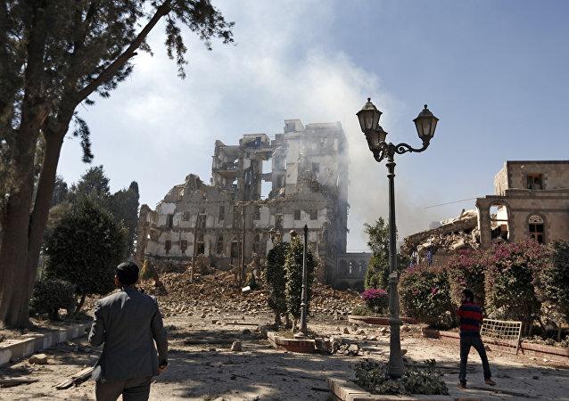 也门首都萨那