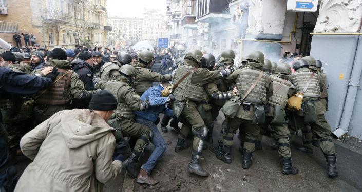 萨卡什维利召集支持者参加3月18日的全乌克兰游行