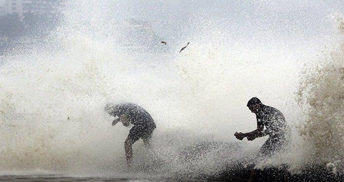 熱帶氣旋在印度 (資料圖片 /Archive)
