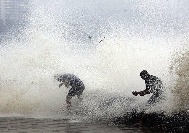 热带气旋在印度 (资料图片 /Archive)