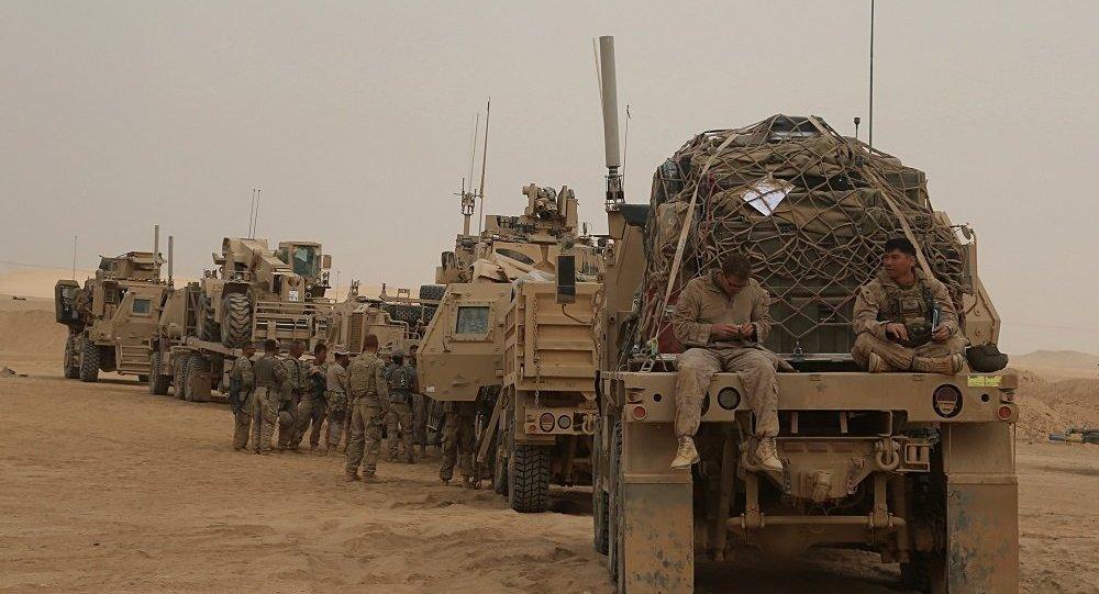 美联军在伊拉克(资料图片)