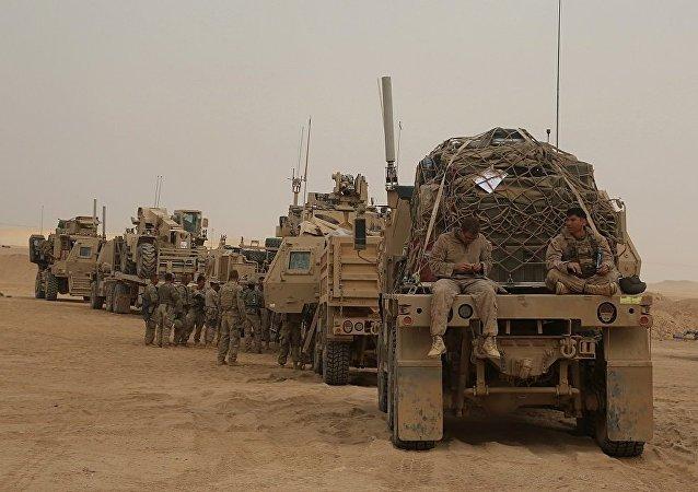 美聯軍在伊拉克