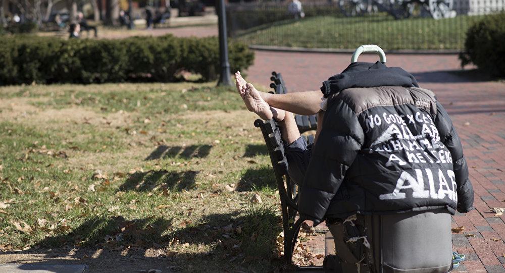 美国无家可归者人