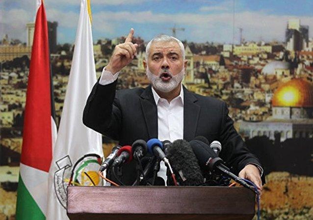 哈马斯领导人不承认耶路撒冷为以色列首都 呼吁发起第三次起义