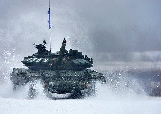 一批经过现代化改装的俄制Т-72型坦克已交付给尼加拉瓜