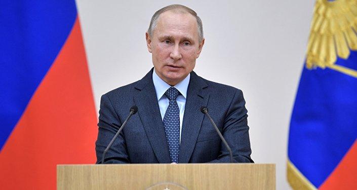 普京:俄中战略协作伙伴关系仍是俄外交政策的最重要方向
