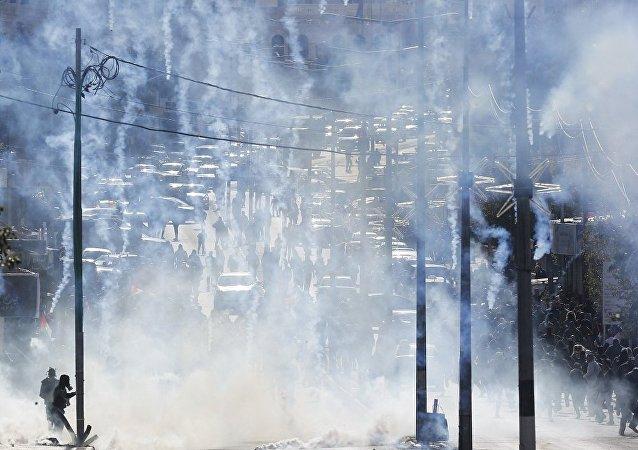 媒体:巴以军民冲突导致50人受伤