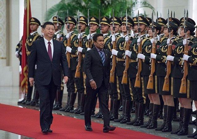 中國成為首個與馬爾代夫簽署雙邊自貿協定的國家