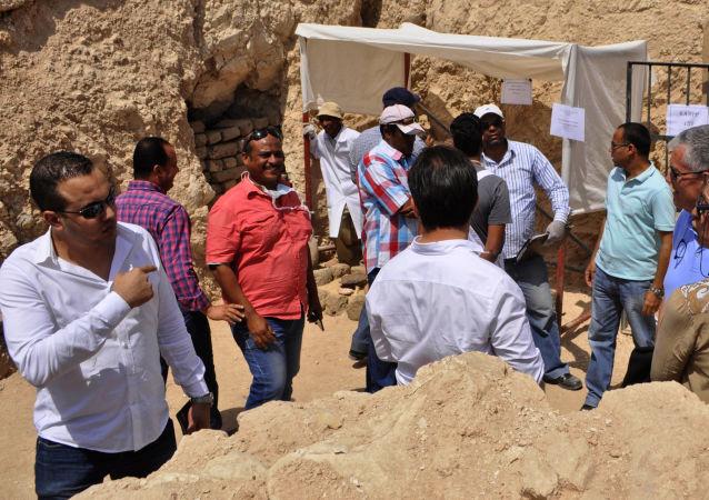 在埃及發現了兩座大約3500年前的古墓