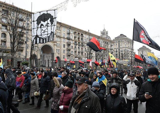 基辅集会呼吁建立救国委员会