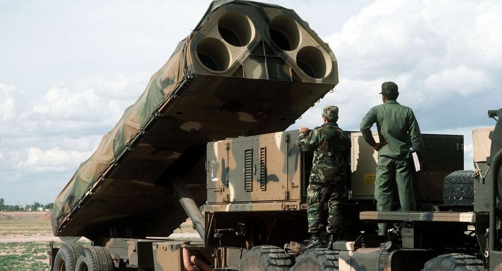 Передвижная пусковая установка для ракет наземного базирования армии США