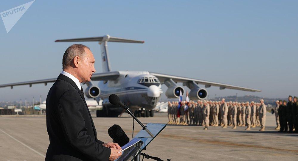 普京下令着手撤走驻叙部队