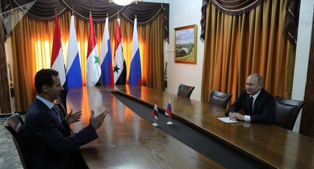 敘總統就俄軍在反恐中發揮的作用向普京致謝
