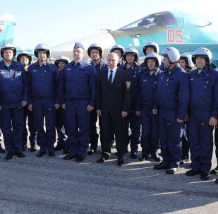 普京表示,俄羅斯為擊潰敘利亞恐怖分子做出主要貢獻。