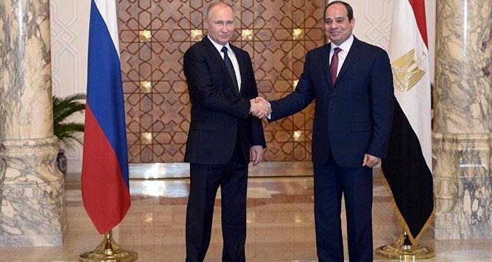 普京與埃及總統就軍技合作問題進行詳細討論