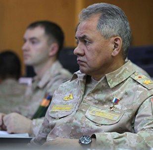 俄罗斯防长谢尔盖•绍伊古