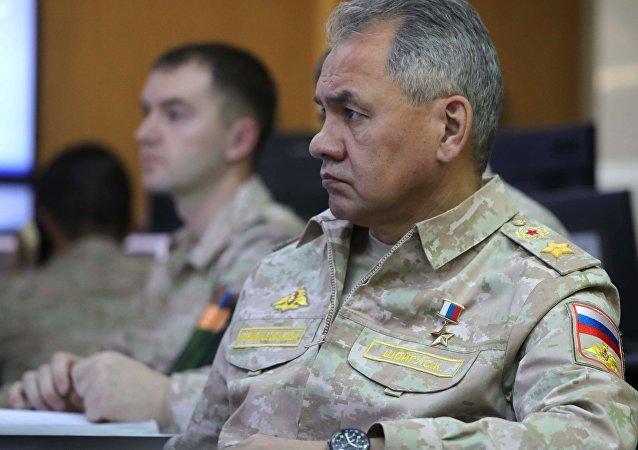 俄羅斯防長謝爾蓋•紹伊古