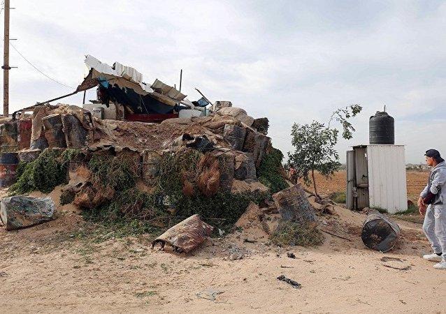 媒体:以色列空袭加沙地带造成2名巴勒斯坦人死亡