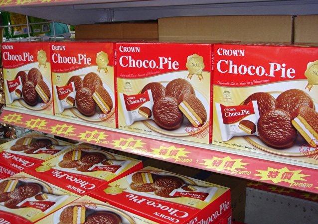 好丽友赠脱北士兵终生免费享用巧克力派资格
