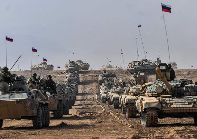 俄外交部:俄因阿富汗威胁强化中亚军事基地