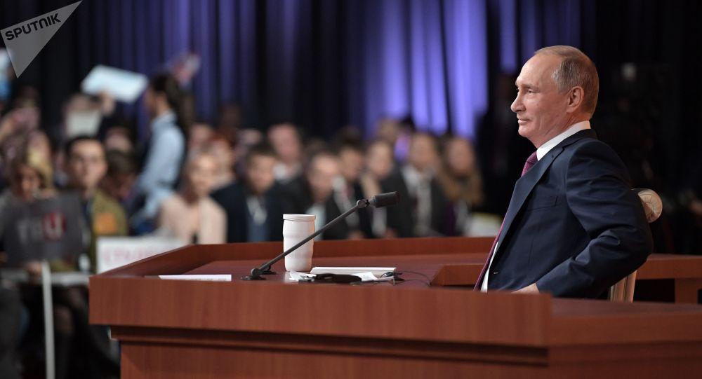 申请参加普京年度大型记者会截止