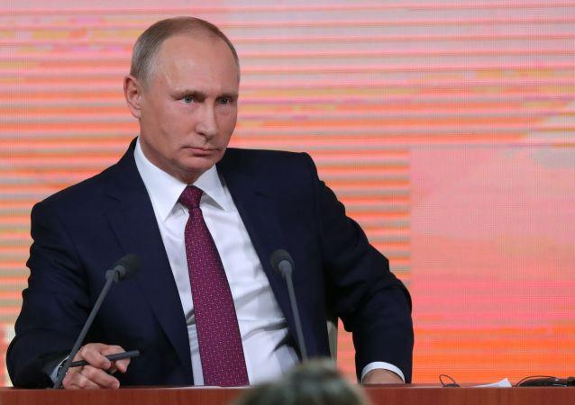 普京:恐怖分子将从叙利亚逃往何处是俄罗斯值得关注的问题