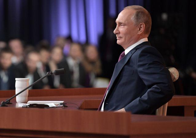 今年了解普京记者会内容的俄公民人数创新高