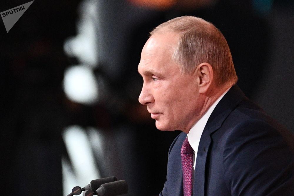 俄羅斯總統普京年度記者會