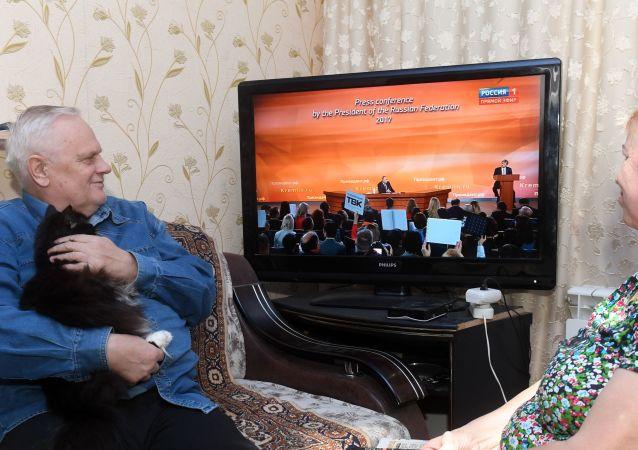 超80%关注普京年度记者会的俄公民对总统回答感到满意